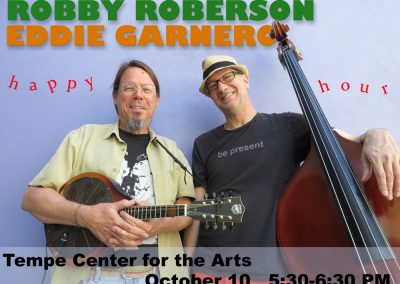 Robby and Eddie at Tempe Center for the Arts